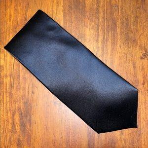Geoffrey Beene Black Silk Tie